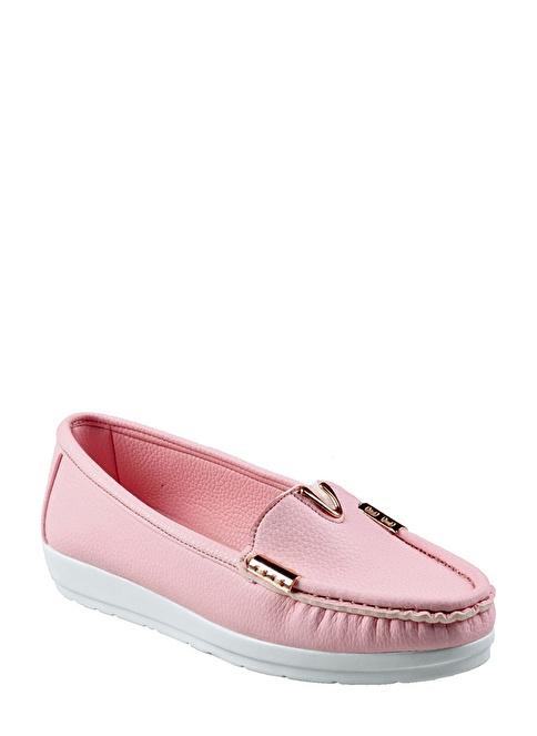 İnce Topuk Ayakkabı Pembe